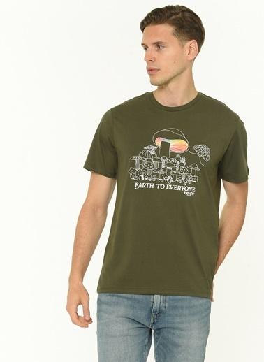 Levi's® 224910956 Ic Crewneck Lse Ssnl Bisiklet Yaka Erkek Tshirt Siyah